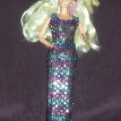 Barbie Clone Lucky Brand Sheath Dress Headband Purple Sparkles (barbie, doll clothes, outfits)
