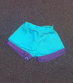 Barbie Clothes Shorts Teal (barbie fashions, doll clothes, outfits)