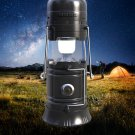 Multifunction Outdoor Bluetooth Speaker - Torch & Lantern Light, FM Radio, Solar Charger