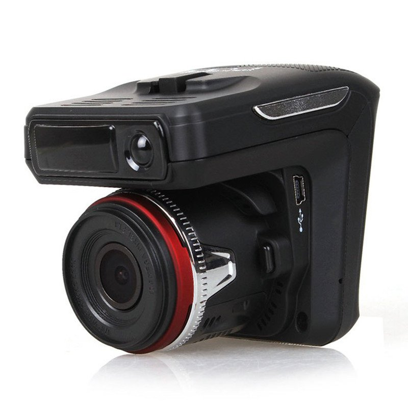 Car DVR Camera 2.4 inch Screen Anti-Radar Detector 720P