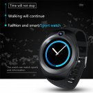 Android Smart Watch Phone- 5M Camera, Quad Core, GPS, Bluetooth, WiFi, 3G, 1.3 Inch Screen (Black)