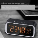 Multi-function Digital Display Bluetooth 4.2 Speaker - Night Light, Alarm Clock, Temperature