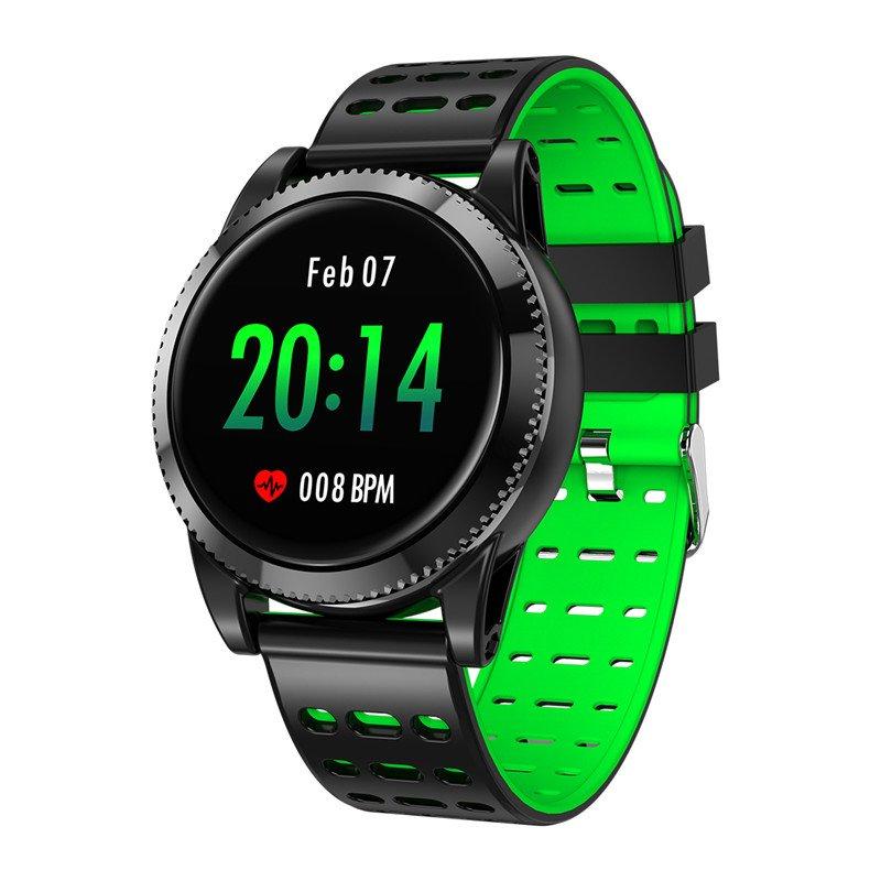 "Sports Smart Bracelet - 1.3"" IPS Screen, Pedometer, Blood Pressure Monitoring, Waterproof IP67"