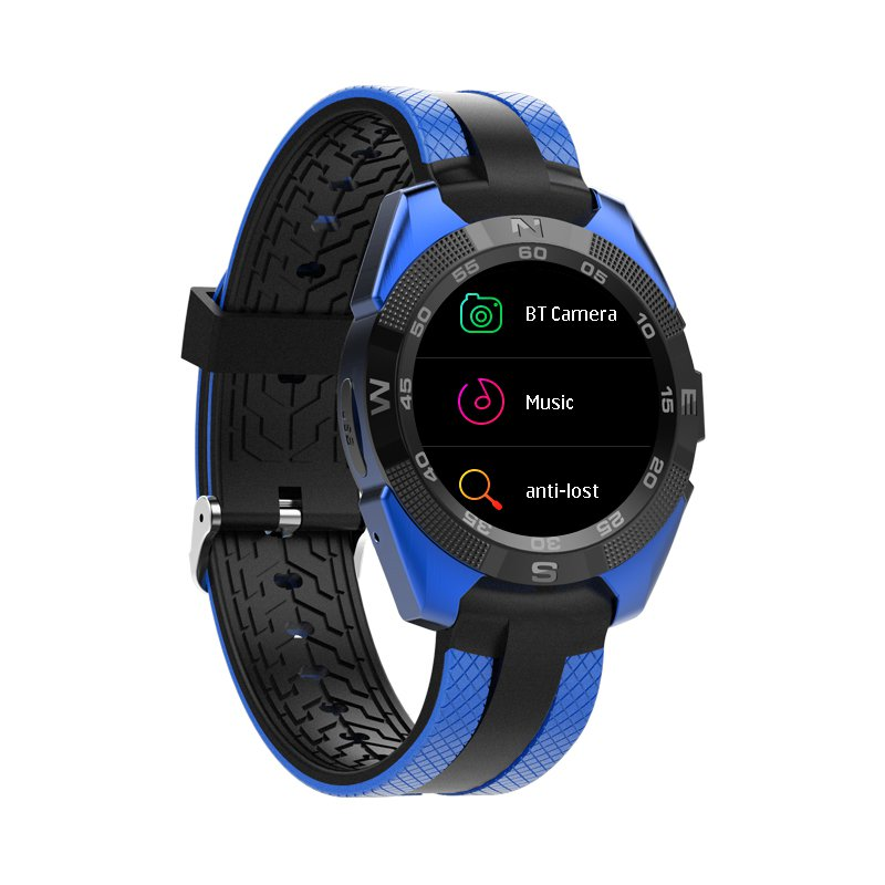 Bluetooth Smartwatch, 10.5mm Ultra-Thin Dial, Heart rate Monitor, Pedometer, 1.54-inch display