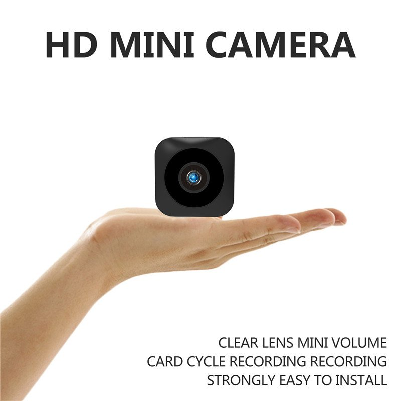 HD Mini WiFi Camera - 720P, Infrared Night Vision, APP, Motion Detect, Magnetic Mounting