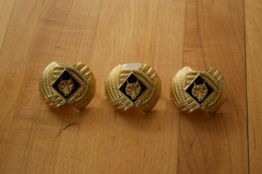 3 Wolf Cub Scout Slides LOT Yellow FREE SHIPPING