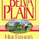 Her Father's House by Belva Plain (2002, Hardcover)