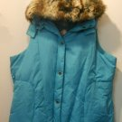 Insulated Vest w/Fur Collar by Weather Solutions Sz 2X