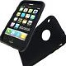 Apple iPhone Black Silicone Back Cover BRAND NEW