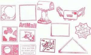 13 Misc. Postal, Postage & Shipping Rubber Stamps