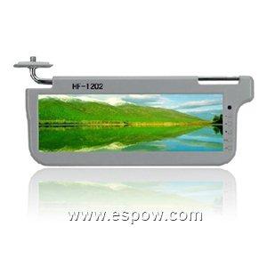 12.2 inch Car Sun Visor TFT-LCD Monitor with Car DVD