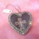 Heart & Cross Pendant