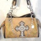 Brown Cross Handbag