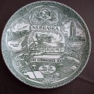 "8 1/2""  Nebraska Great Seal Plate"