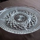 Clear Glass Relish Platter
