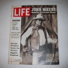 Life Magazine  John Wayne (The Duke)  January 28, 1972
