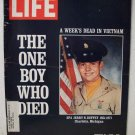 Life Magazine  A Week's Dead in Vietnam  January 21, 1972