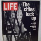 Life Magazine  The Cities Lock Up  November 19, 1971