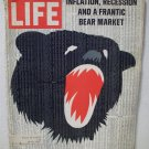 Life Magazine  Inflation, Recessionand a Frantic Bear Market  June 5, 1970