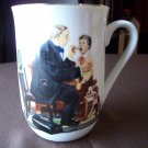 Norman Rockwell Cup  The Country Doctor