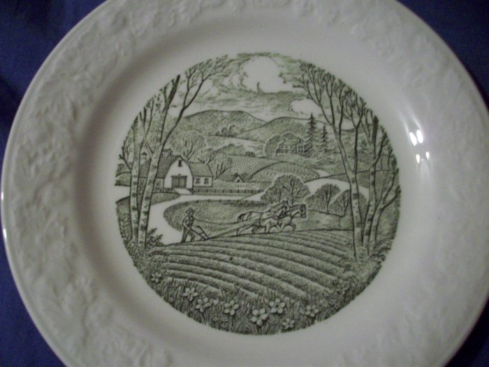 """6 1/2""""  Taylor & Smith Pastoral Plate"""
