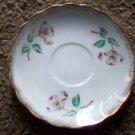 """5 1/2"""" Vintage Japan Flowered Saucer"""