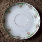 "5 1/2"" Limoges Saucer    Flowers and Lace"