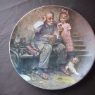 """8 1/2"""" Norman Rockwell Plate   """"The Cobbler"""""""
