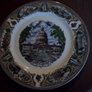 """10 1/2""""  Capitol Washington, D.C. Plate"""