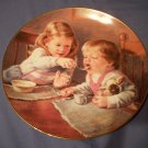 """8 1/2""""  Hamilton Collection Plate   Give Us This Day"""