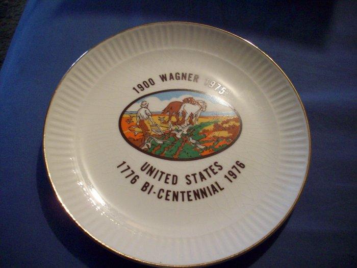 """7 1/4"""" Wagner Bi-Centennial Plate"""