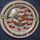 "9 1/4""  2003 God Bless America Calander Plate"