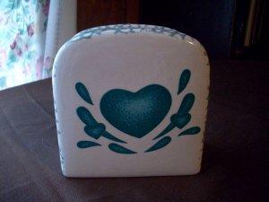 Stoneware Napkin Holder