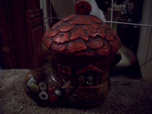 Cookie Jar  Old Lady in the Shoe