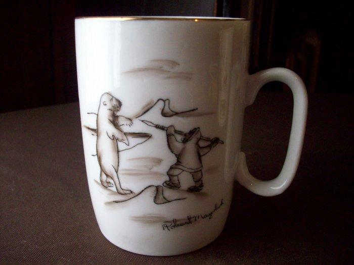 Robert Mayobok Polar Bear and Eskimo Cup