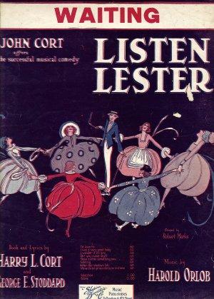 Vintage Sheet Music   Waiting