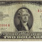 1953 Red Seal $2 Note