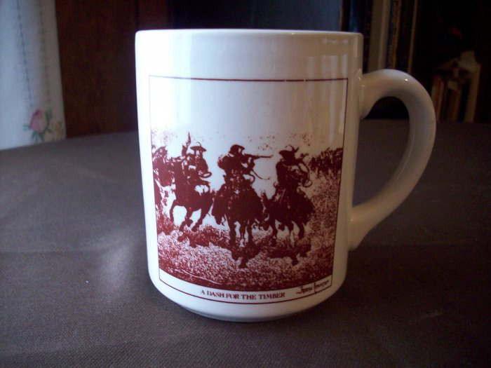 A Dash for the Timber  Fredric Remington Cup
