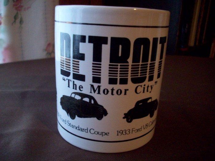 Detroit Motor City 22kt Gold Cup