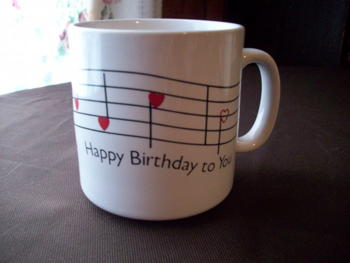 Happy Birthday to You Cup