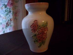 Raised Rose Vase