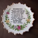 "6"" Vintage Grandmother Plate"