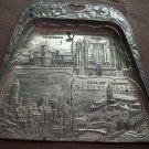 Vintage Souvenier Cast Metal Hangable Dust Pan