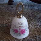 1991 Betty Whiteaker 50th Anniversary Bell (Enesco)