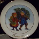 1981 Avon Christmas Plate First Edition