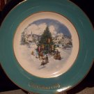 1978 Avon Christmas Plate Sixth Edition