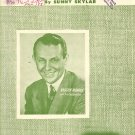 Vintage Sheet Music   The Jolly Old Man In The Bright Red Suit