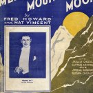 Vintage Sheet Music  Mellow Mountain Moon