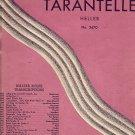 Vintage Sheet Music Tarantelle