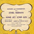 Vintage Sheet Music Doin' What Comes Natur'lly